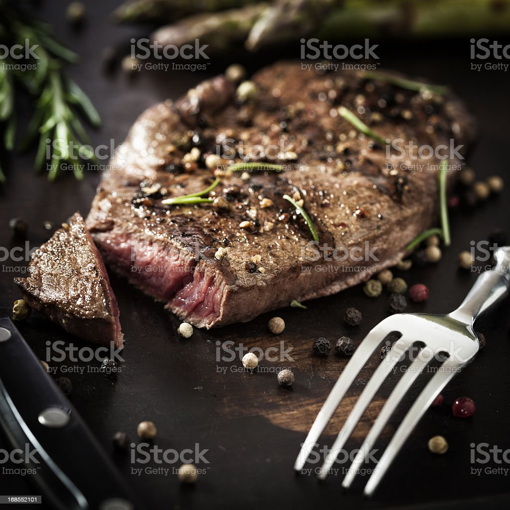 Barbecue Steak stock photo