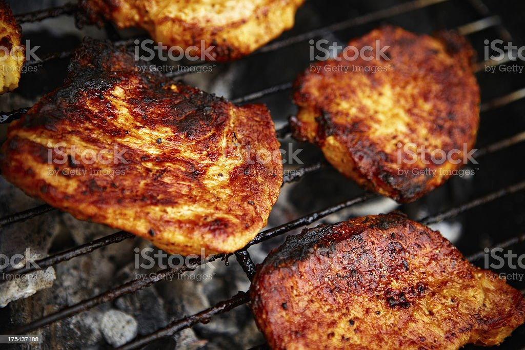 Barbecue time royalty-free stock photo