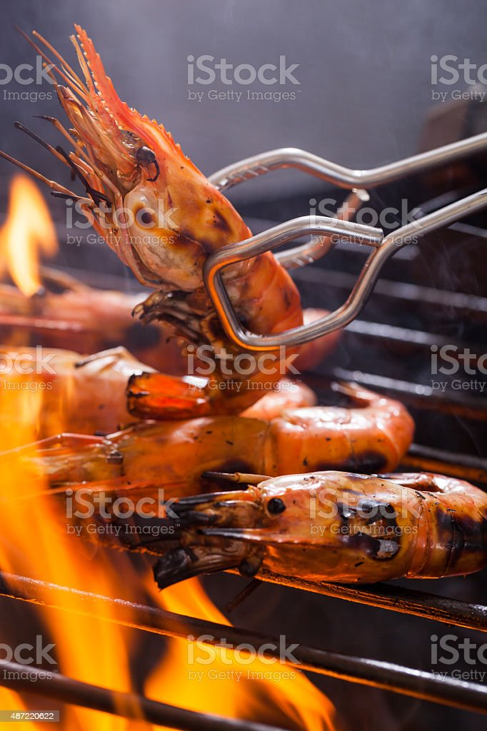 Barbecued stock photo