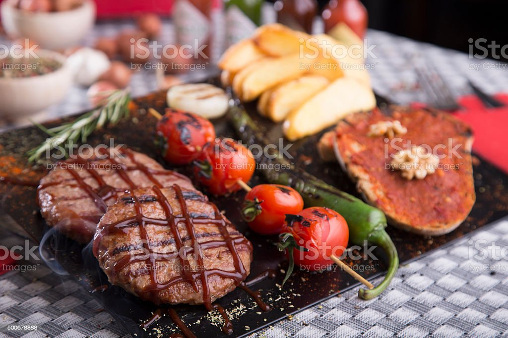 barbecues grill stock photo