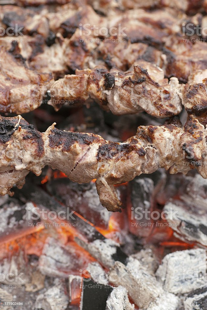 barbecues royalty-free stock photo