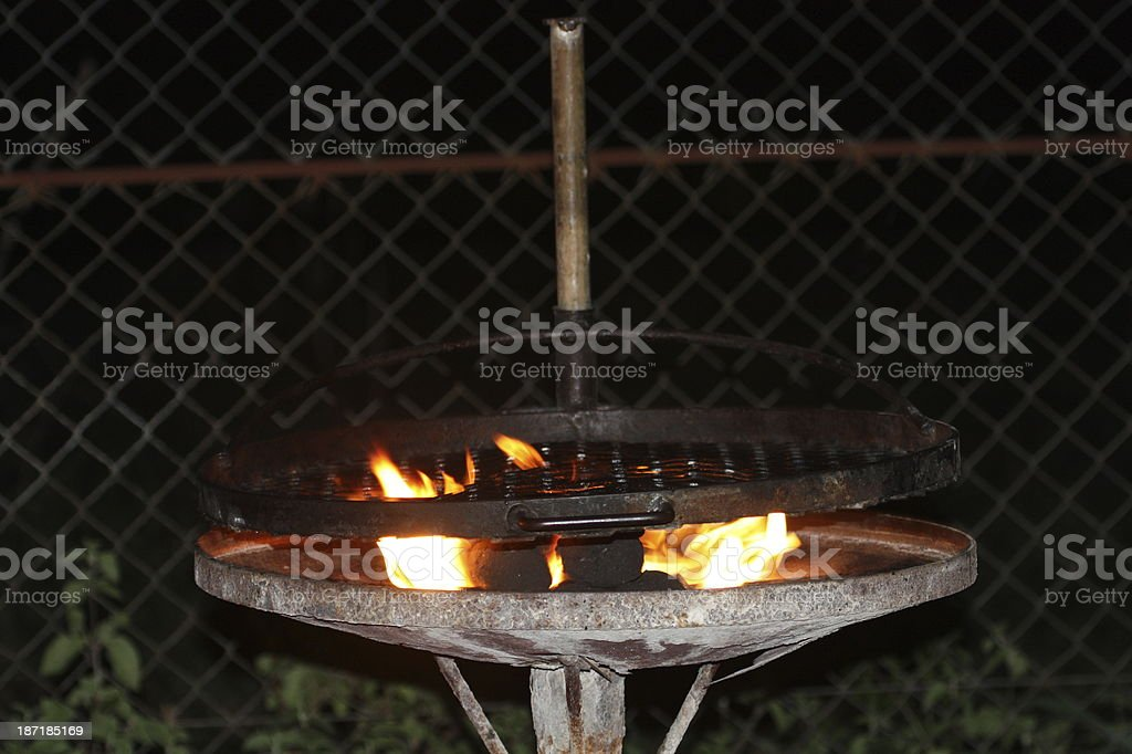 Barbeque African Bush Style royalty-free stock photo