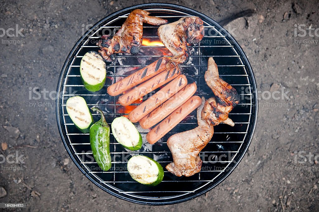 Barbeque grill royalty-free stock photo
