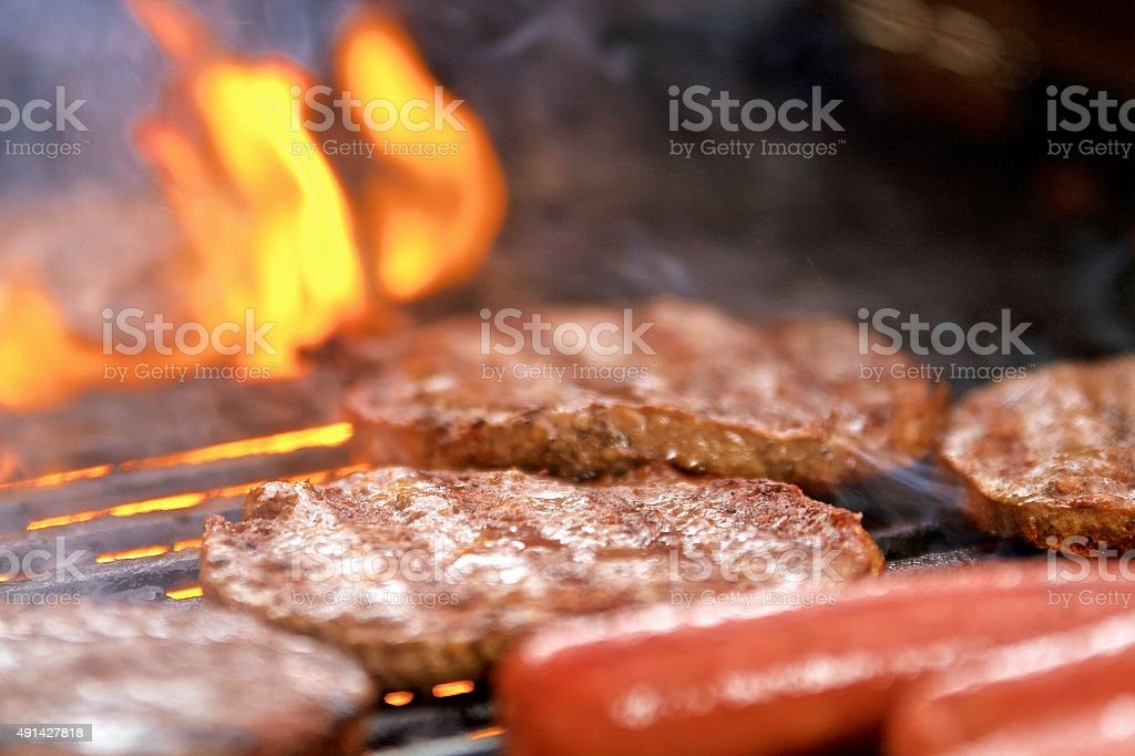 Barbeque Meat,Bbq,Barbecue stock photo