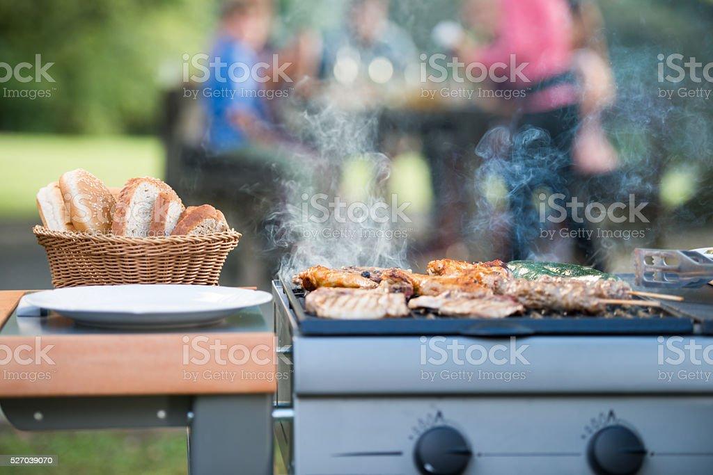 Barbeque stock photo