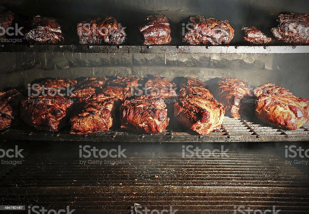 Barbeque Pork stock photo