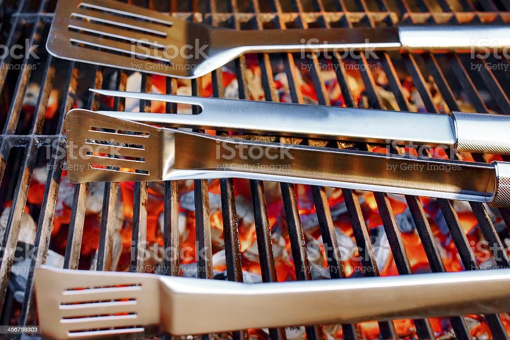 Barbeque Utensils XXXL royalty-free stock photo