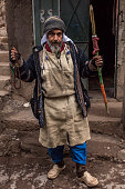 Barber resident of small mountain village