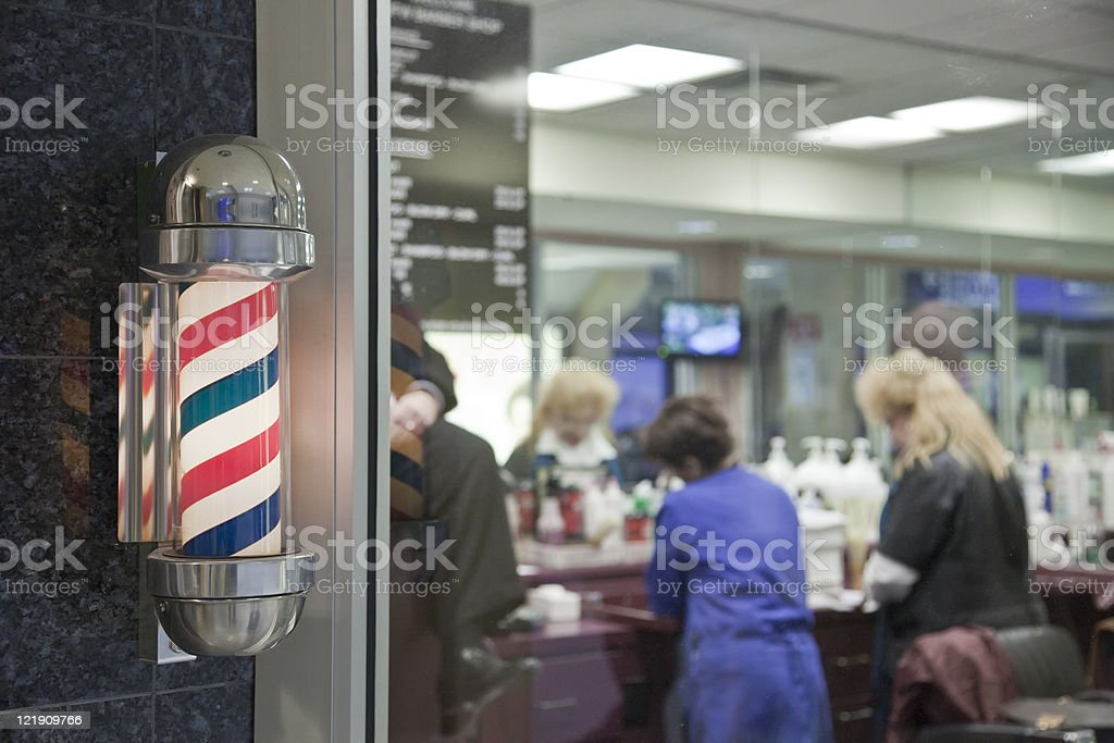 Barber Shop royalty-free stock photo