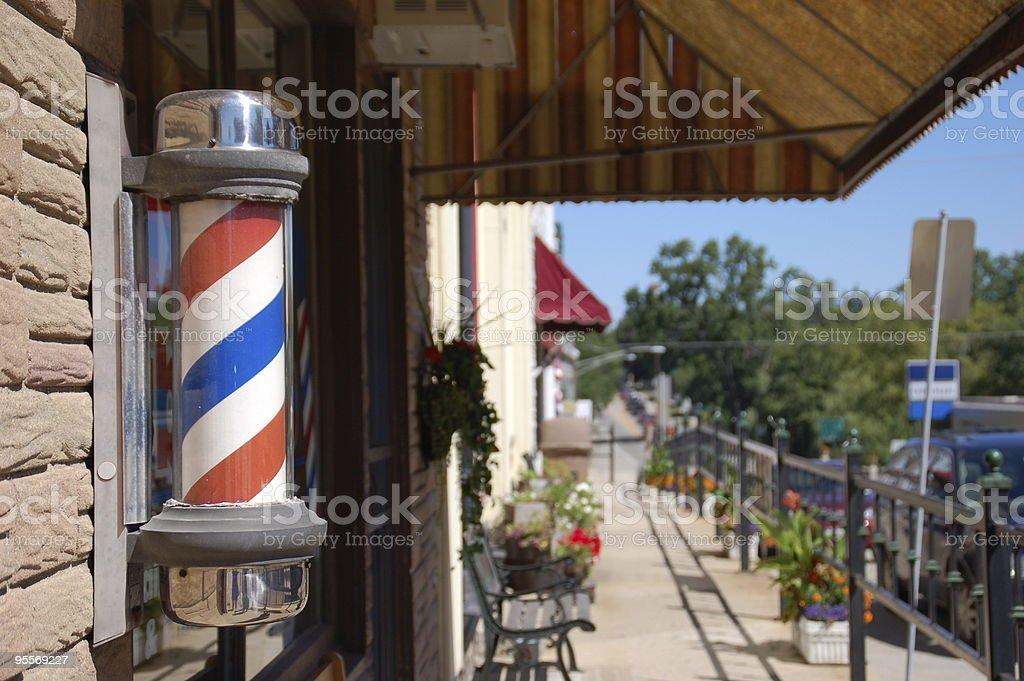 Barber Shop Pole 2 stock photo