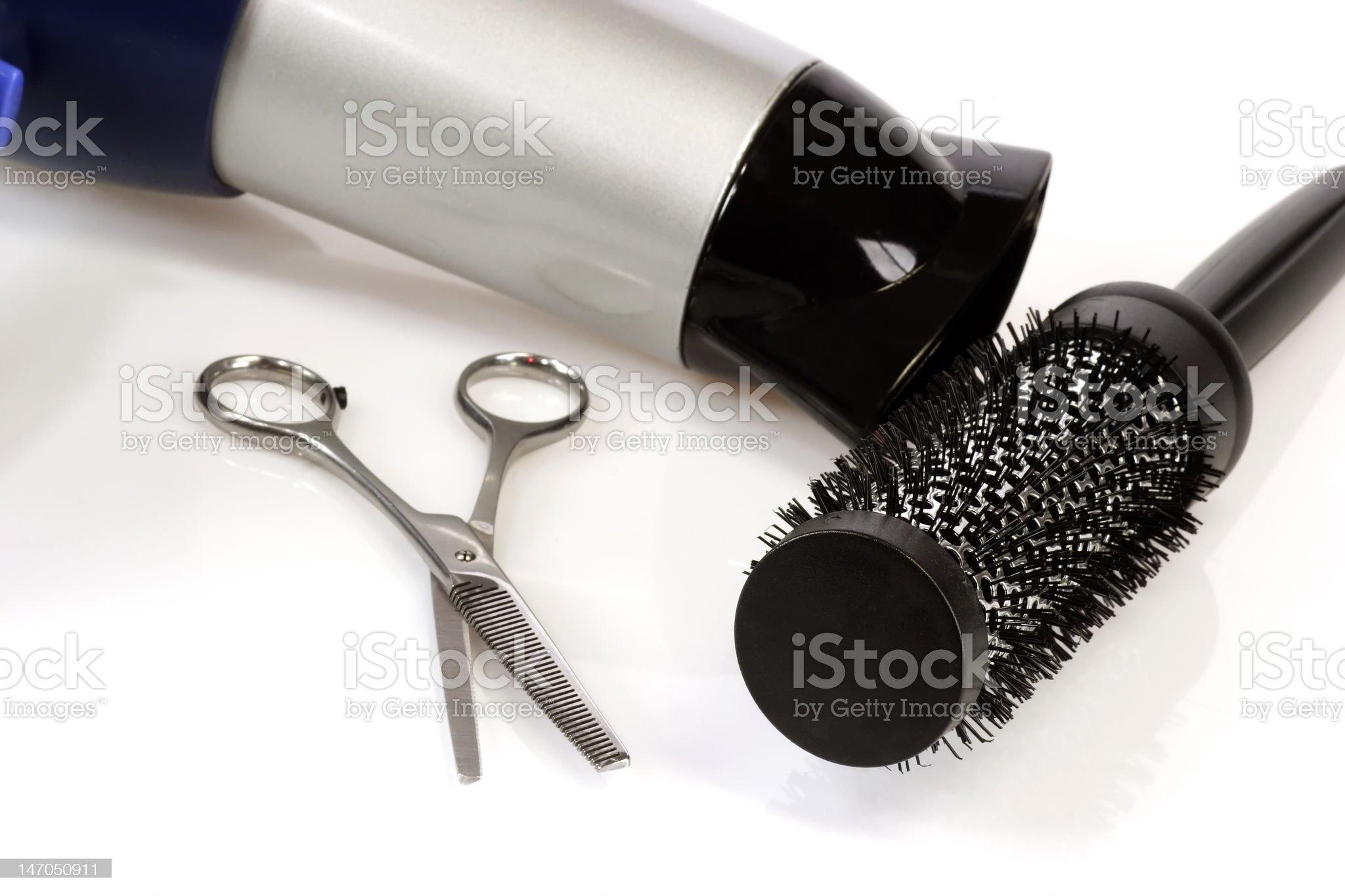 Barber Tools royalty-free stock photo