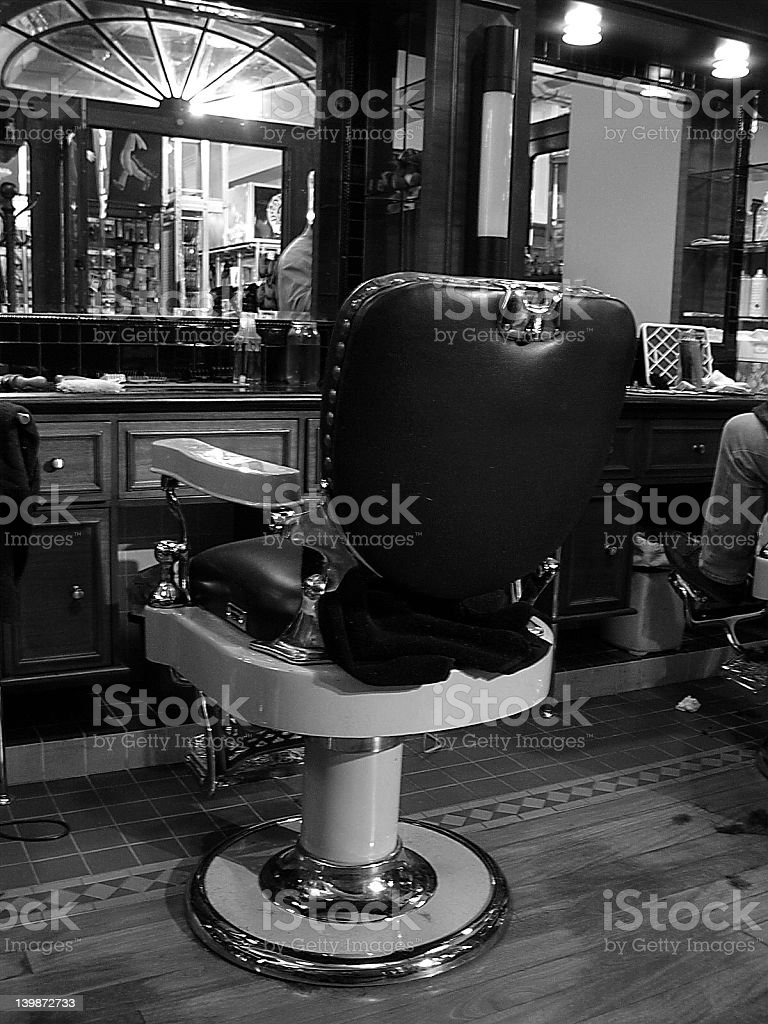 Barber's Chair stock photo