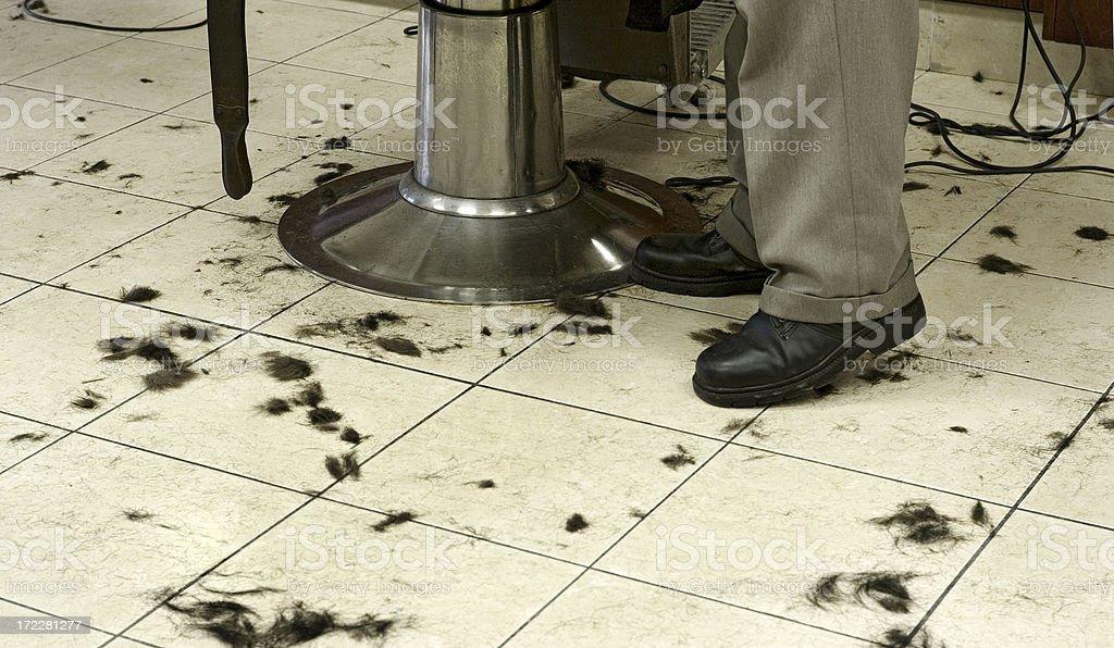 Barbershop Haircut royalty-free stock photo