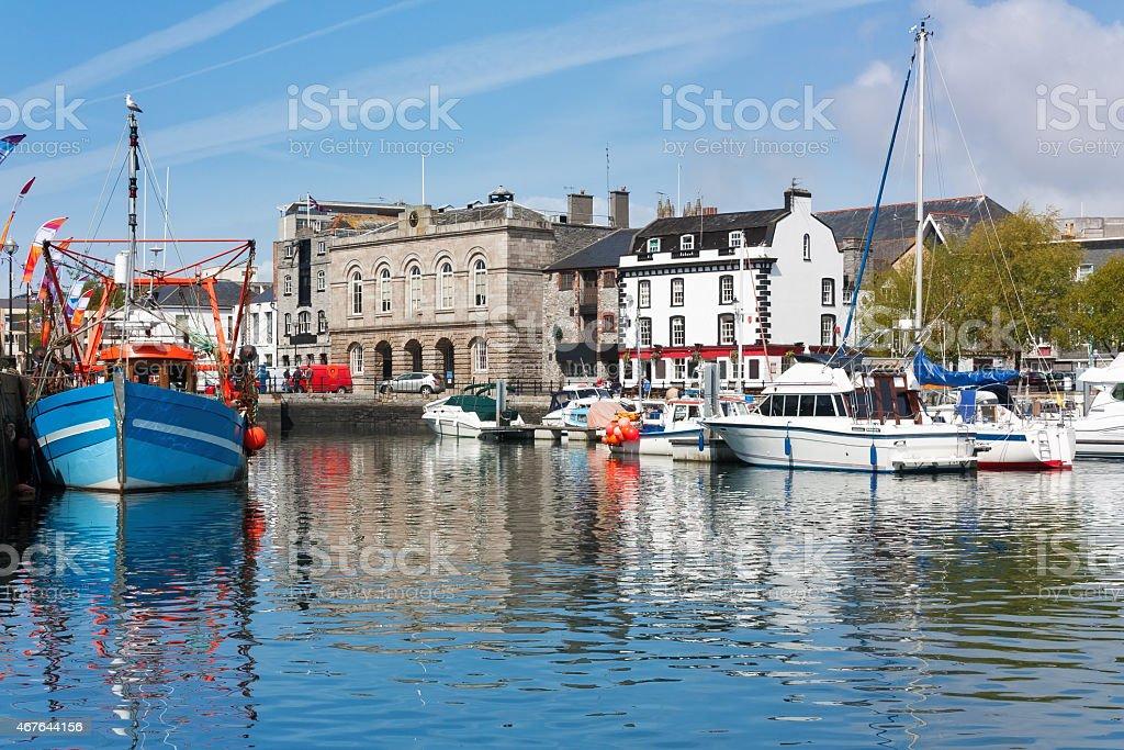 Barbican Plymouth Devon England stock photo