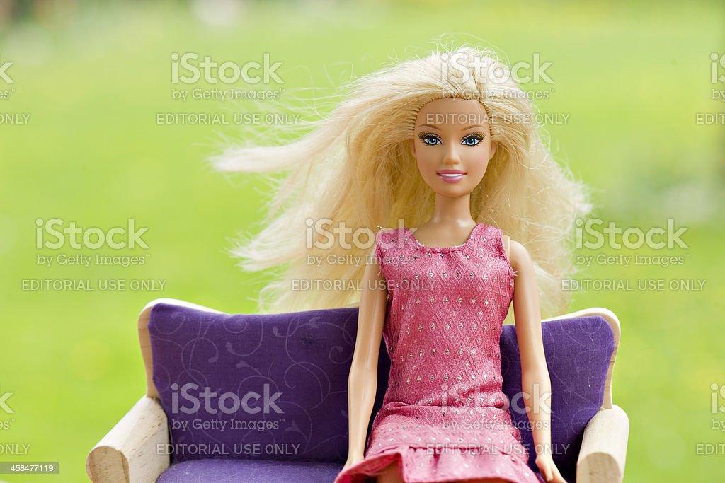 Barbie royalty-free stock photo