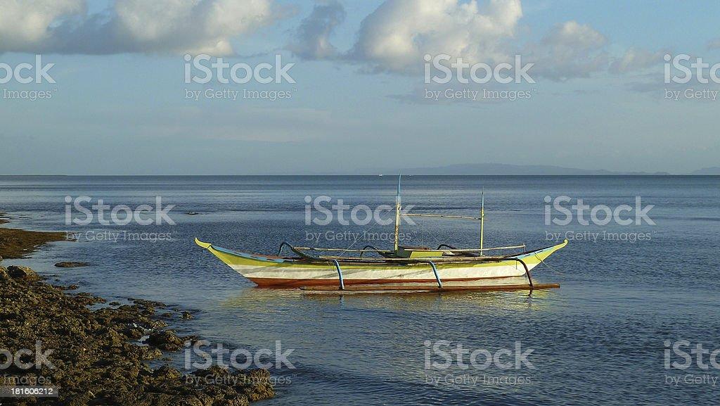 Barca pesquera stock photo