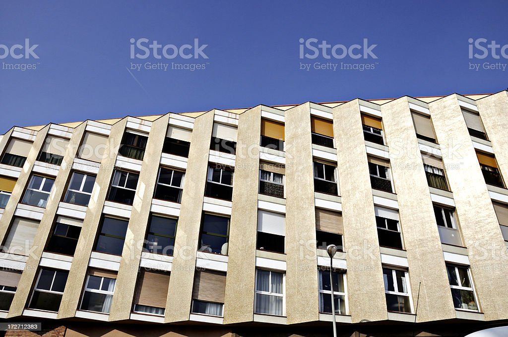 barcelona architecture detail royalty-free stock photo