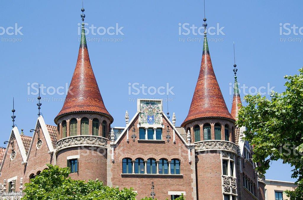 Barcelona Architecture, Spain stock photo