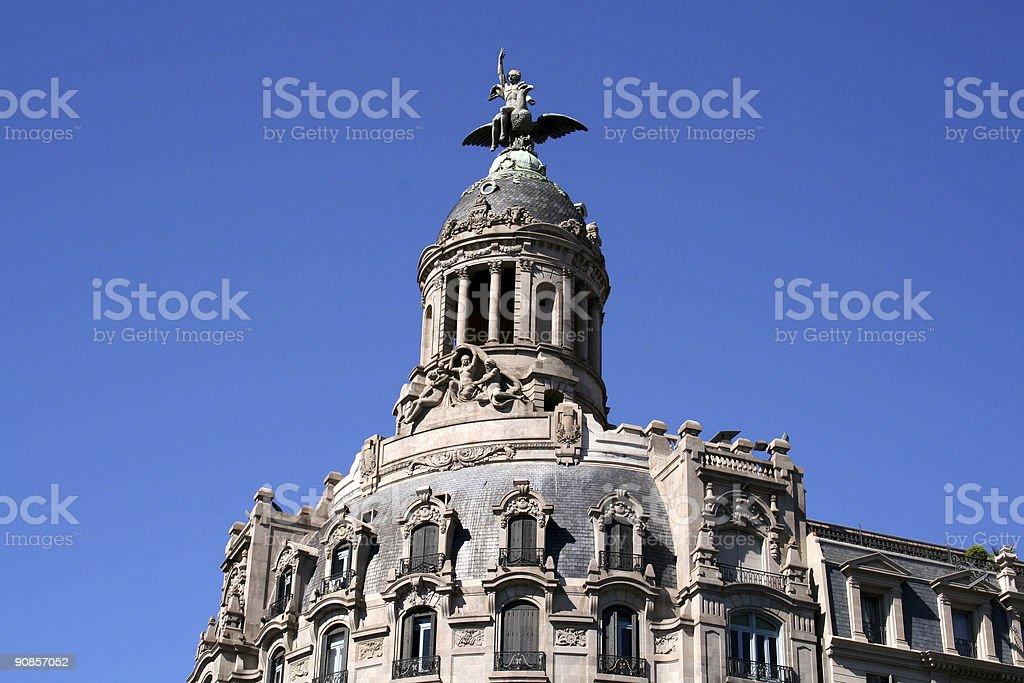 Barcelona building royalty-free stock photo