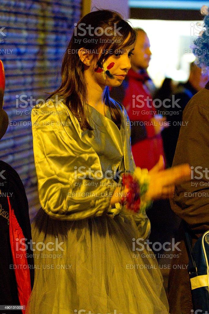 Barcelona Carnival royalty-free stock photo