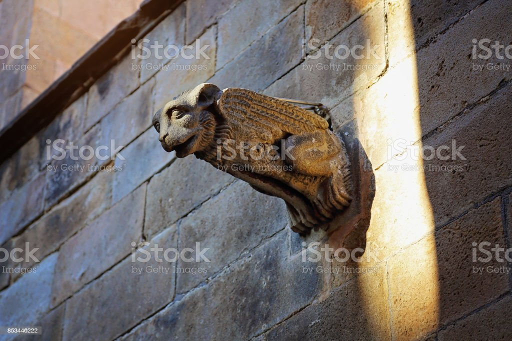 Barcelona Cathedral stock photo