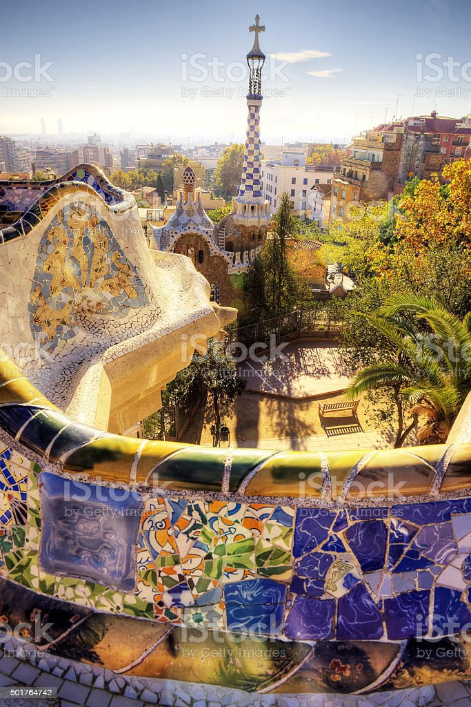 Barcelona city - shots of Spain - Travel Europe stock photo