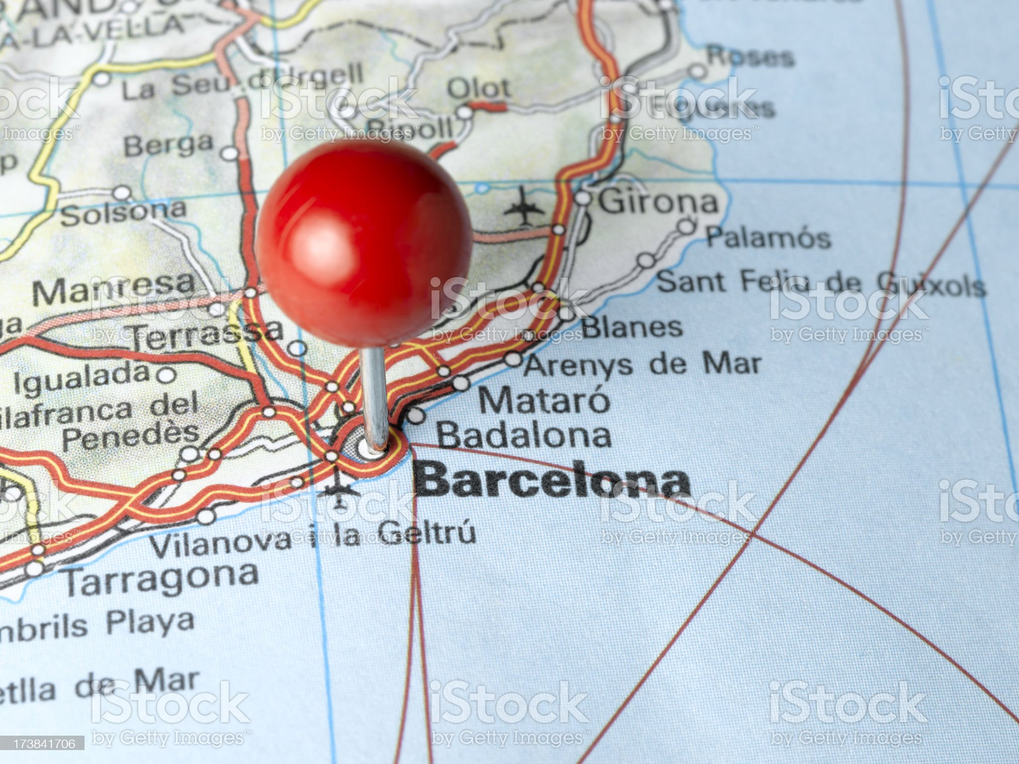 barcelona close up royalty-free stock photo
