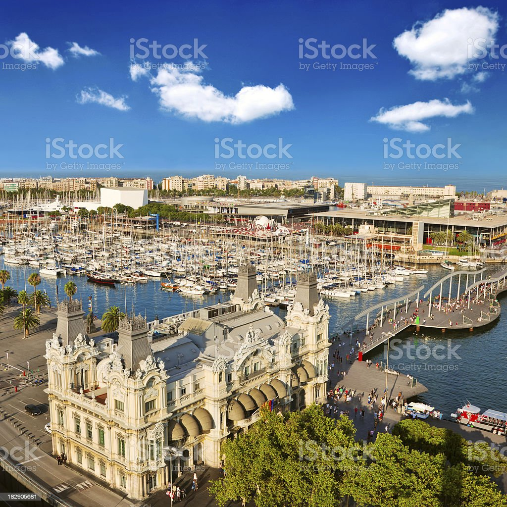 Barcelona royalty-free stock photo