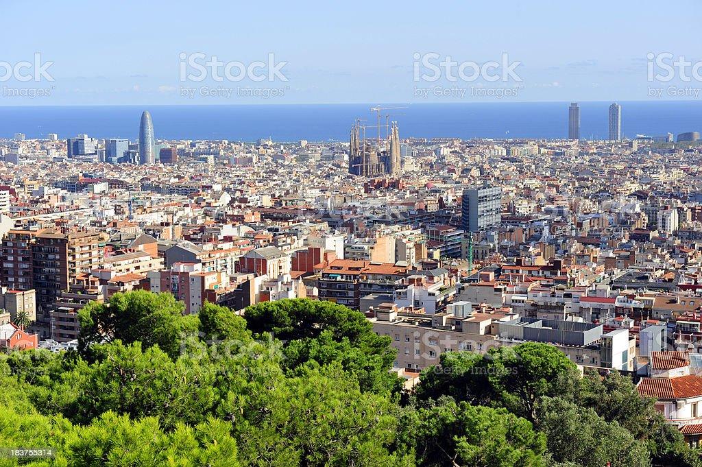 Barcelona royalty-free stock photo
