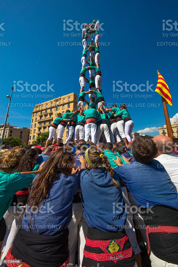 Barcelona stock photo