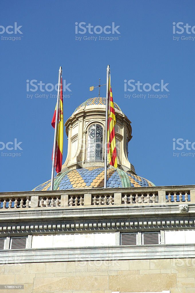 Barcelona port royalty-free stock photo
