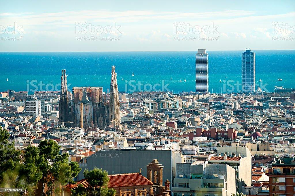 Barcelona, spain. stock photo