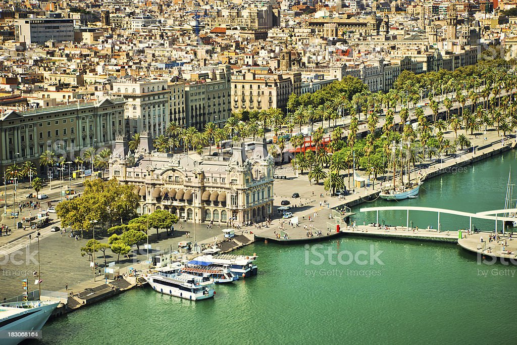 Barcelona, Spain royalty-free stock photo