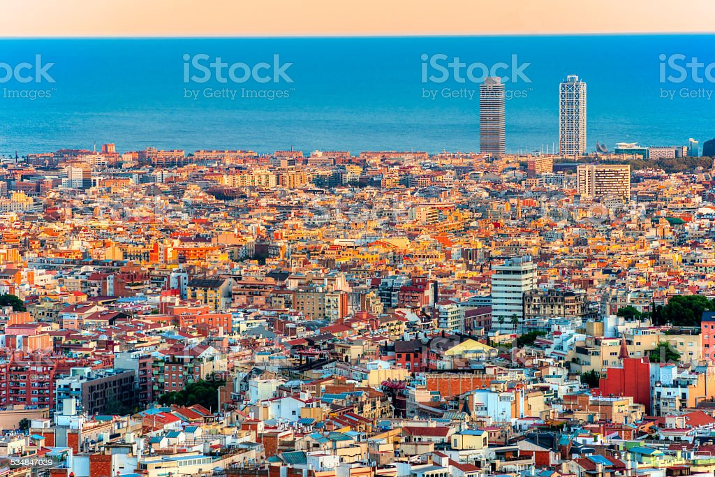 Barcelona, Spanien. – Foto