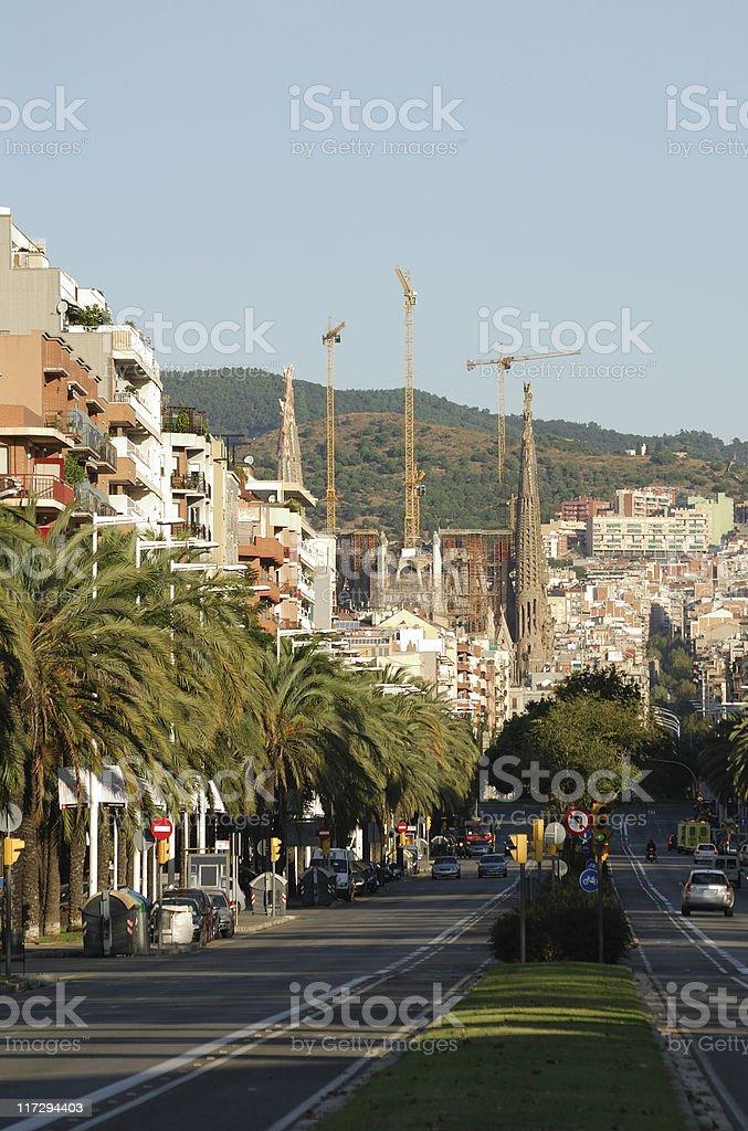 Barcelona Street royalty-free stock photo