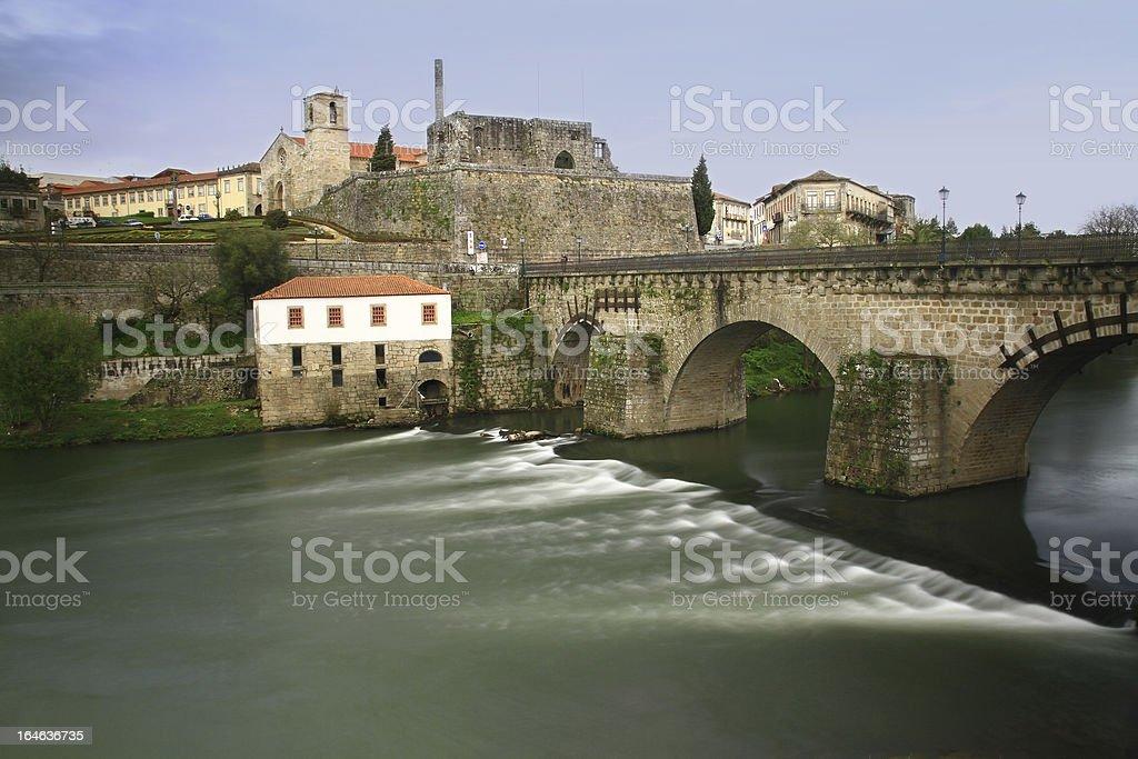 Barcelos historical site stock photo