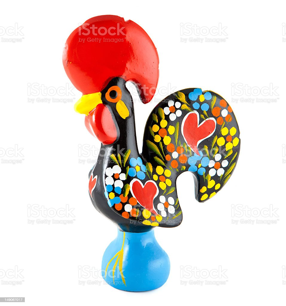 Barcelos Rooster. Portugal stock photo