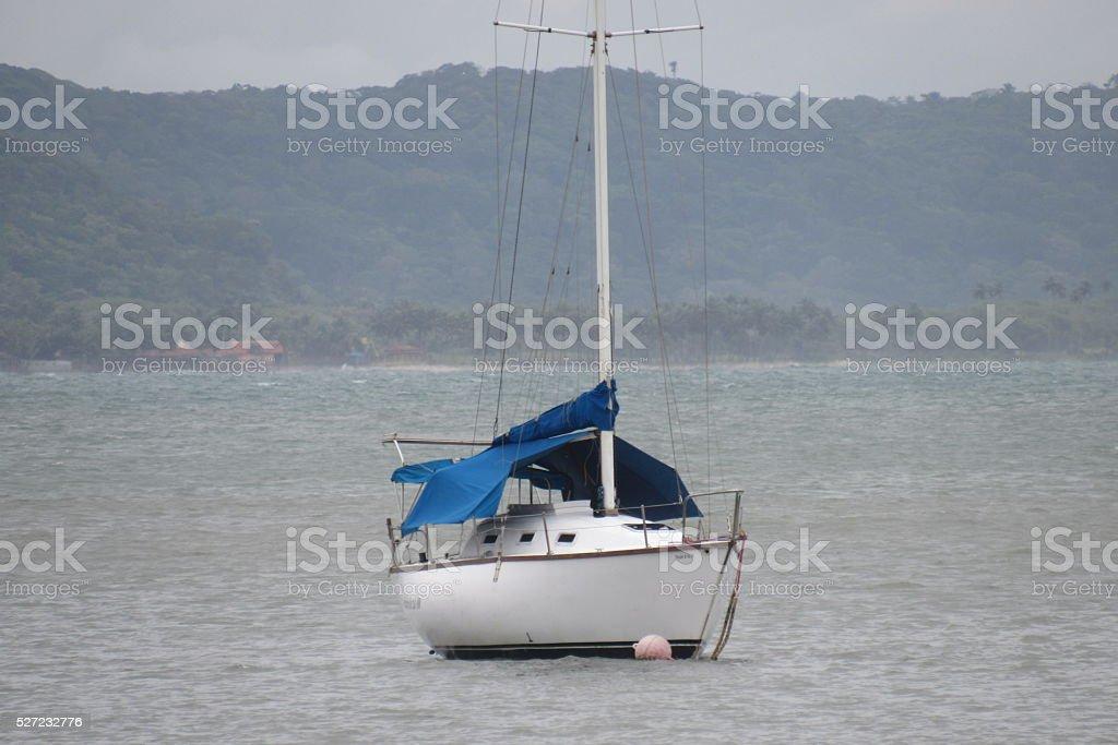 Barco a deriva stock photo