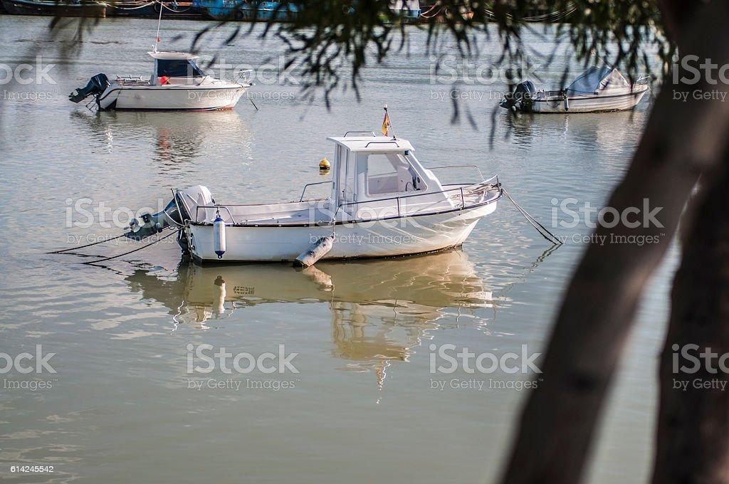 barco,barca,mar,anclado stock photo