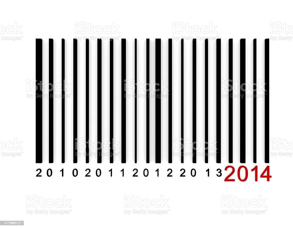 Barcod 2014 royalty-free stock photo