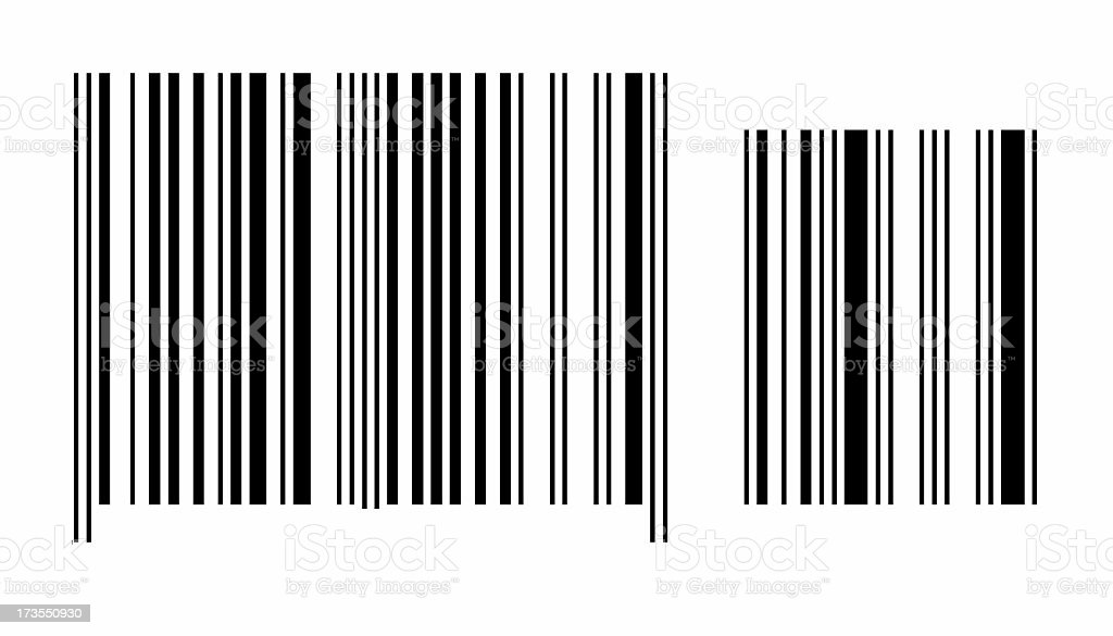Barcode - blank2 royalty-free stock photo