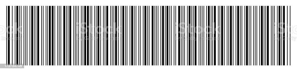 Barcode - blank3 royalty-free stock photo