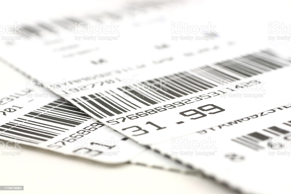 Barcode labels royalty-free stock photo