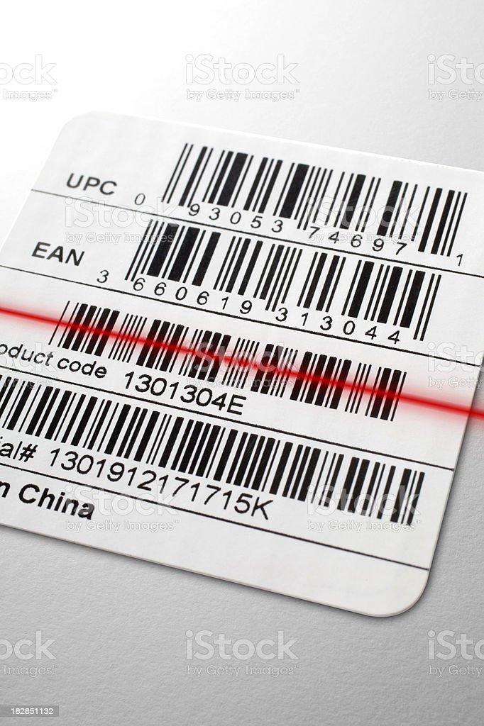 Barcode royalty-free stock photo