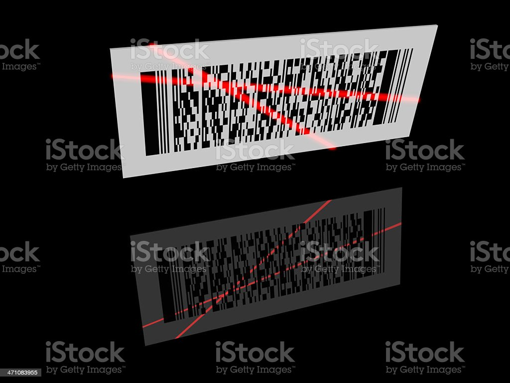 2D Barcode royalty-free stock photo