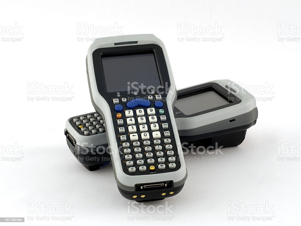 Barcode Scanners royalty-free stock photo