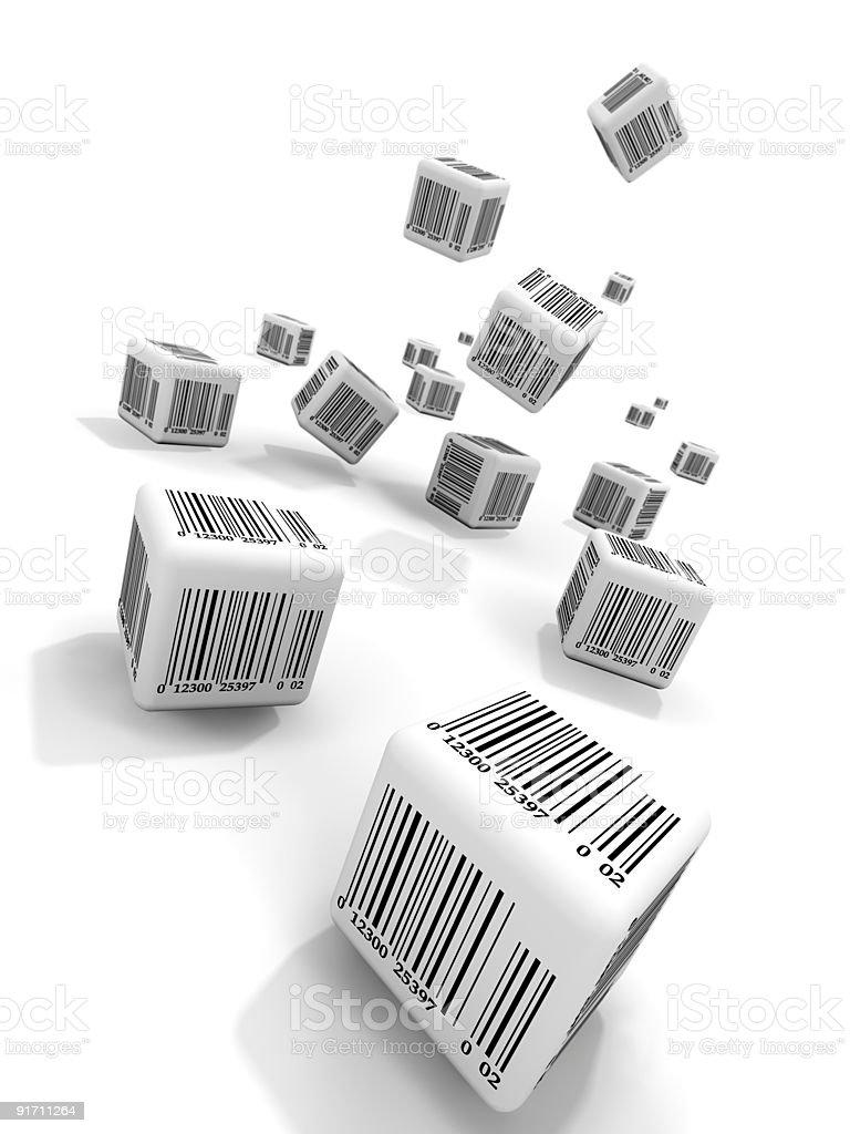 Bar-codes royalty-free stock photo