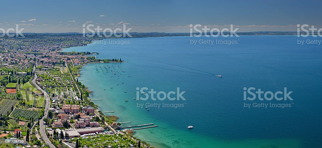 Bardolino (Lago di Garda) stock photo