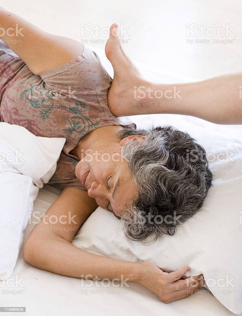 Barefoot Massage royalty-free stock photo