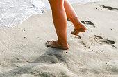 Barefoot on the Beach